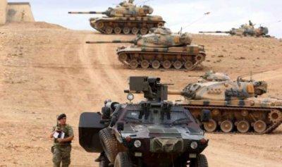 """المدفعية التركية تقصف """"قوات سوريا الديموقراطية"""" بريف حلب"""