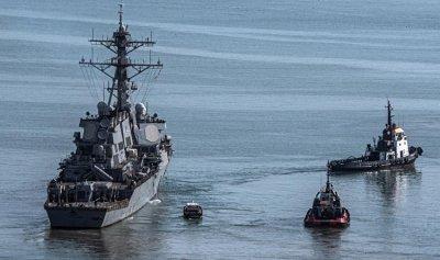 """USS Ramage""… رسالة أميركية بحبر عسكري"