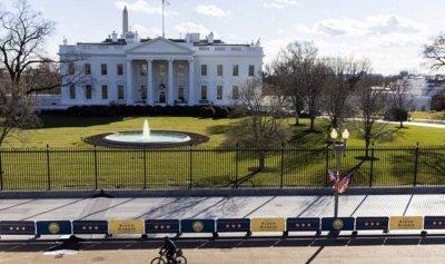 تعقيم البيت الأبيض يكلف نصف مليون دولار