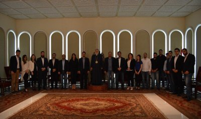"""وفد من مصلحة الطلاب في """"القوات"""" زار كيشيشيان… دميان: نؤكد التزامنا التام  بقضيتكم"""