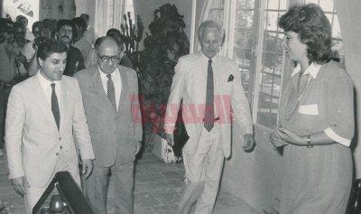 اجتماع بشير الجميل وموفد الرئيس الأميركي فيليب حبيب