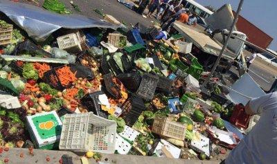 بالصور: قتيل في حادث سير على أوتستراد البوار