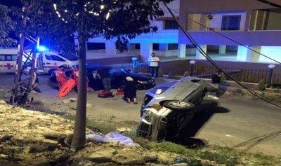 جريح بحادث سير في صيدا