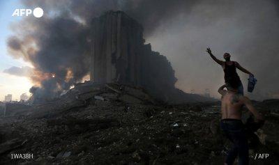 انفجار بيروت يعادل زلزلا بقوة 4.5
