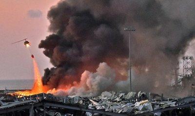الحوثيون يستغلون فاجعة بيروت لجمع تبرعات لحزب الله