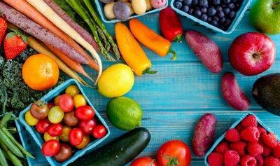 فوائد الفواكه والخضراوات بحسب ألوانها