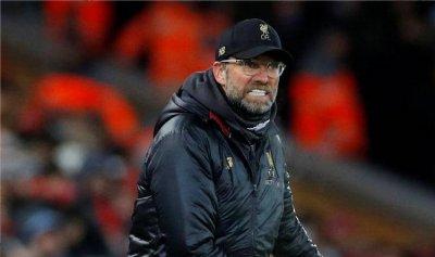 مدرب ليفربول غاضب