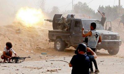 الجيش الليبي يتقدم في مصراتة