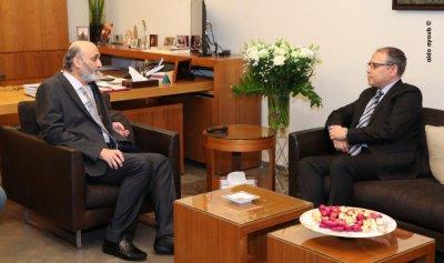 جعجع بحث والسفير المصري التطورات السياسيّة