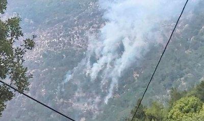 تجدد الحريق في غزراتا والمراحات في عكار العتيقة