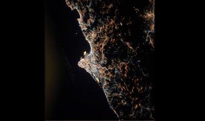 صور من الفضاء لبيروت وبغداد