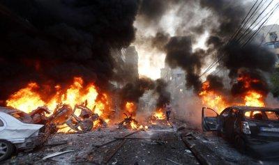 تفخيخ سيارات اسعاف وتفجيرها في الضاحية