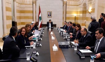 بالصورة: اجتماع لجنة صياغة البيان الوزاري