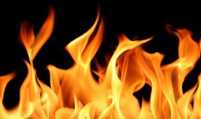 اخماد حريق في العقيبة