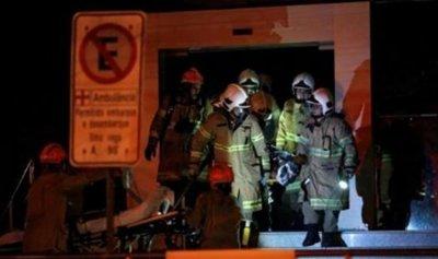 وفاة 11 شخصا جراء حريق داخل مستشفى