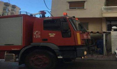بالصورة: حريق بمتجر في حراجل