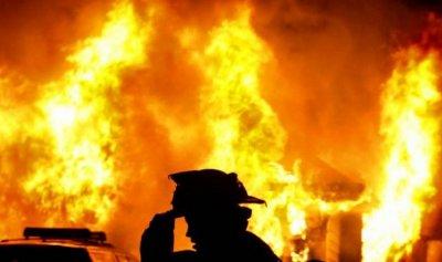حريق داخل شقة في الزلقا