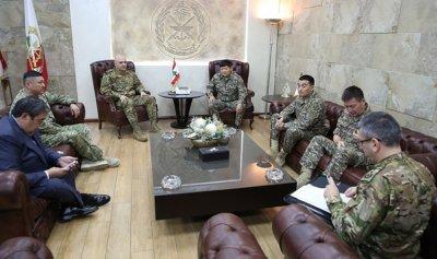 قائد الجيش استقبل نائب وزير الدفاع الكازاخستاني