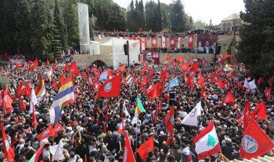 """الإشتراكي"": تيمور جنبلاط لم يزر دمشق"