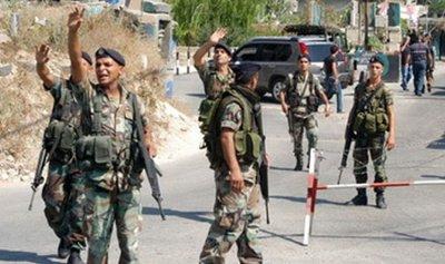 بالصور: إطلاق نار على الجيش في بعلبك