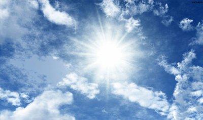 الطقس غدًا قليل الغيوم وارتفاع بسيط بدرجات الحرارة