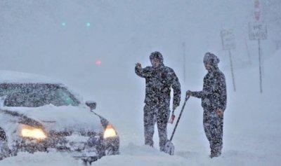 الطرقات المقطوعة بسبب تراكم الثلوج