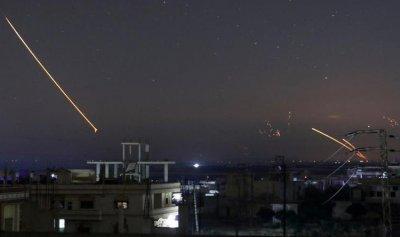 ضربة إسرائيلية على مواقع الأسد وحزب الله في سوريا
