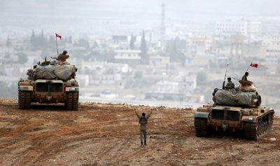  جيش الأسد يفتح النار على مواقع تركية 