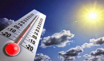 الطقس غدا غائما جزئيا مع ارتفاع بدرجات الحرارة