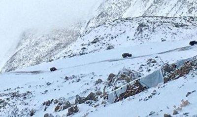 الثلوج عزلت قرى في الهرمل