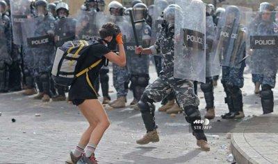 قوى الأمن: لخروج المتظاهرين السلميين من اماكن الاعتداءات