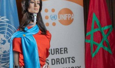 """شامة المغربية… """"روبوت"""" تحارب العنف ضد النساء"""