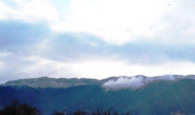الثلوج غطت مرتفعات عكار