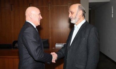 التطورات السياسية بين جعجع والسفير الأرجنتيني