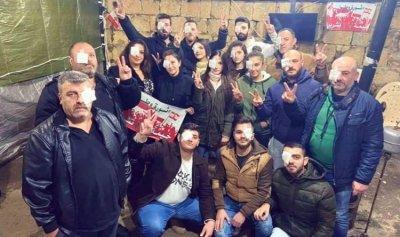 حاصبيا تتضامن مع الجرحى في بيروت