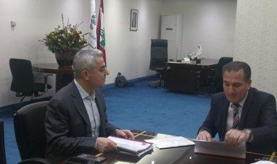 خطة الاتصالات بين حواط ومدير عام اوجيرو