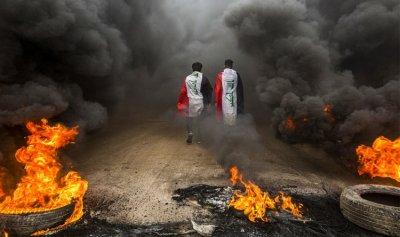 50 جريحاً و20 معتقلاً في تظاهرات بغداد