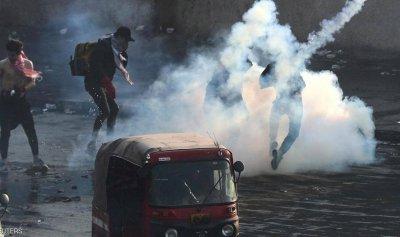 حرق مقر بدر بالبصرة وإطلاق نار كثيف في بغداد