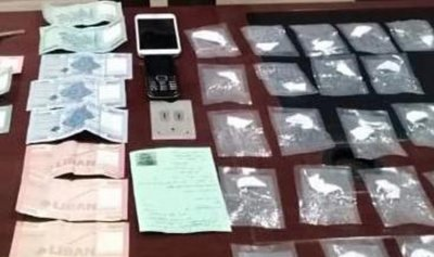 بالصور: توقيف مروج مخدرات على خط كسروان وجبيل