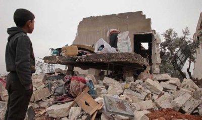 مقتل عائلة وستة أطفال بقصف روسي في سوريا