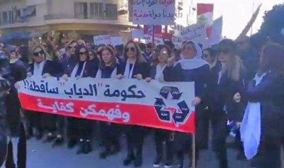 """بالصورة: ثورة """"الغليان"""" في طرابلس"""