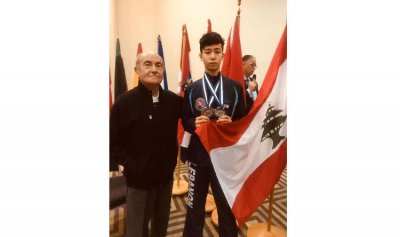 ميداليتان للبنان في مبارزة البحر المتوسط للفئات العمرية