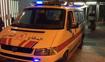 حادث صدم في عائشة بكار