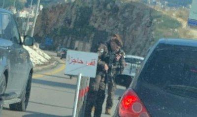 بالفيديو والصورة: حاجز يفتّش الثوار على طريق الكازينو باتجاه بيروت