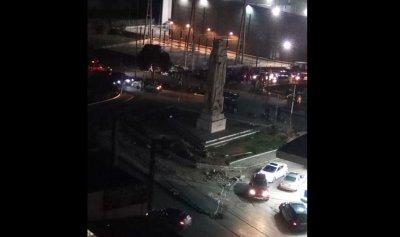 بالصورة: قطع طريقي البحصاص ودوار السلام ـ طرابلس