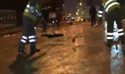 بالفيديو: اعمال تنظيف في وسط بيروت