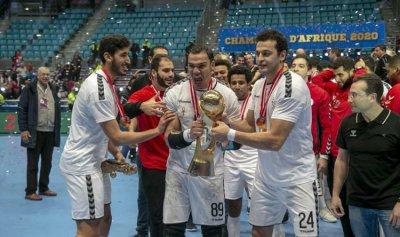 يد مصر تحجز مقعدها في الأولمبياد