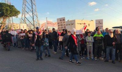 تجمع في عبرا للانطلاق بمسيرة إلى تقاطع إيليا