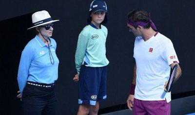 تغريم فيدرر في بطولة أستراليا المفتوحة