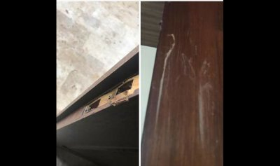 بلدية الحويش استنكرت كسر باب كنيسة سيدة العطايا